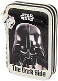 Star Wars–Doppel Plumier 34Stück, 14x 21cm (Safta 411501054)