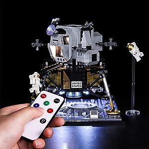 TXXCI Luci LED Kit Compatibile con Lego 10266 Confidential(Non Incluso Modello) Lego Outlet LEGO