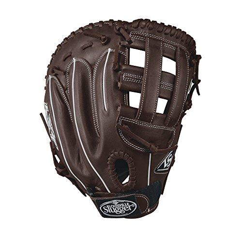 Louisville Slugger LXT 33cm wtllxrf17bm Fastpitch Softball First Base Mitt, Dunkelbraun/Weiß -