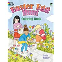 Easter Egg Hunt Coloring