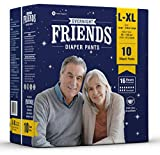 #3: Friends Adult Overnight Diaper Pants (Large - Extra Large) (Large)
