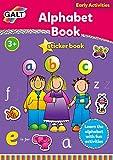 Galt Zuhause lernen, Alphabet Stickerbuch (Englische Sprache)