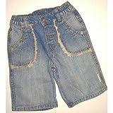 """""""Klitzeklein"""" Süße Jeans Bermuda Kindermode Größe"""