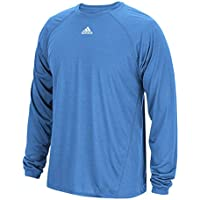Adidas Men's Climalite Heathered Long Sleeve Shirt