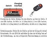 LanXi Schuhheizung Deluxe – kabellose, beheizbare Thermosohle, Einlegsohlen mit Akkubetrieb und Funkfernbedienung, Verschiedene Größen, wiederaufladbar (35-40) - 6
