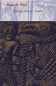Saga de Nial par  Anónimo islandés del siglo XIII