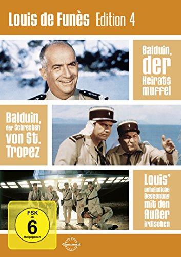 Bild von Louis de Funès Edition 4 [3 DVDs]