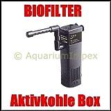 HAILEA HL-BT 200 Innenfilter inkl. Aktivkohle-Box Filter für Nano Aquarien