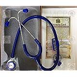 MCP Hi Tech Microtone Stethoscope (Blue)