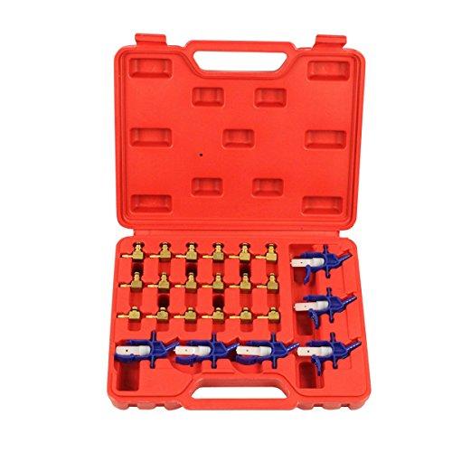 Qbace 24pc flussimetro Adattatore Set