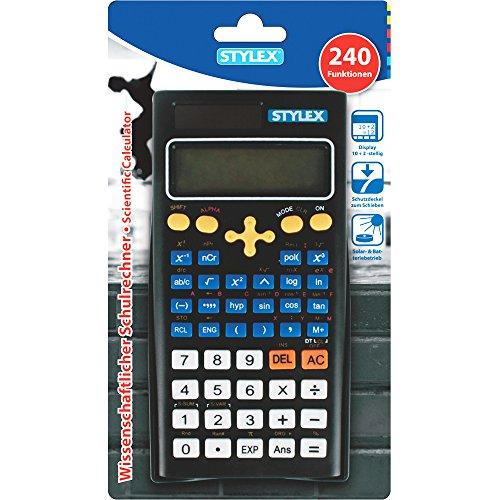 STYLEX 38181 Wissenschaftlicher Schulrechner 240 Funktionen