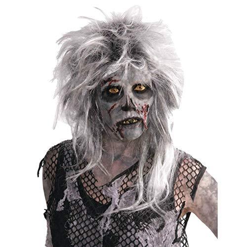 Punk Zombie Wig Fancy Dress (Punk Rocker Zombie Kostüme)