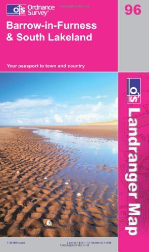 Barrow-in-Furness and South Lakeland (OS Landranger Map) by Ordnance Survey (2009-02-23)