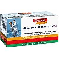 Glucosamin 750 Chondroitin Plus Megamax Kapseln 120 stk preisvergleich bei billige-tabletten.eu
