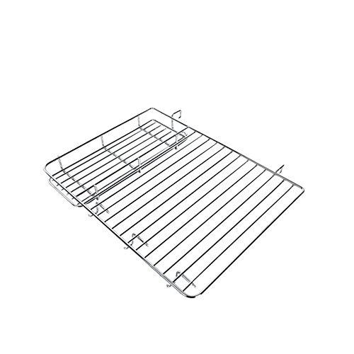 Eisen Chrom multifunktionale Barbecue Gewürz Lagerregal Ofengestell Eisen Chromkorb , 29.3*22cm
