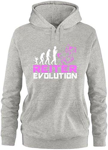 EZYshirt Reiter Evolution Damen Hoodie