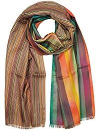 Paul Smith Men's AUXC955DS20392 Multicolor Silk Scarf
