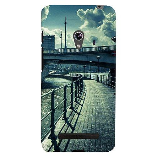 ColourCrust Asus Zenfone 5 Mobile Phone Back Cover With D290 – Durable Matte Finish Hard Plastic Slim Case