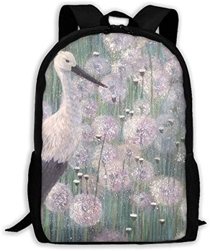 Adult Casual Backpack School Bags Oxford Oxford Oxford Laptop Backpack Unisex Dandelion Travel Daypack | Up-to-date Stile