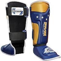 Farabi Sports Kinder Schienbeinschoner Junior Kickboxen, Muay Thai, MMA Schienbeinschützer Shin Spann Bein & Fuß Displayschutzfolie