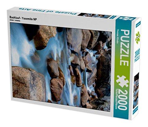 Preisvergleich Produktbild Bachlauf - Yosemite NP 2000 Teile Puzzle hoch (CALVENDO Orte)