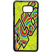 Samsung Galaxy S6 Edge Plus Custom Case Cover black Valentino Rossi VR 46 Cell Phone Case 7W7-092553