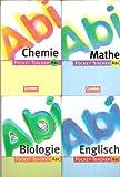 Pocket Teacher ABI: Chemie; Englisch; Biologie; Mathe; Politik/Sozialkunde; Die Facharbeit (für alle Fächer) (6 Bände)
