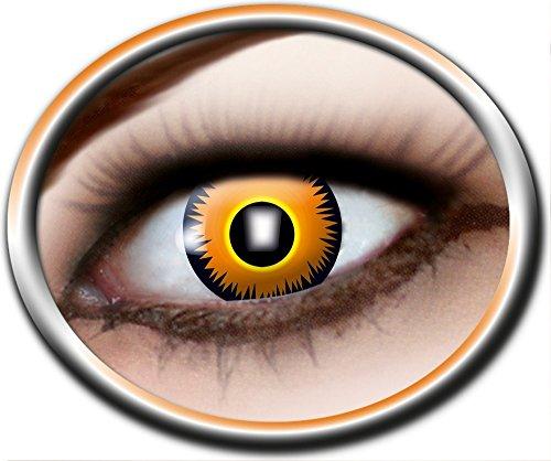 Eyecatcher Motivlinsen - farbige 12-Monats-Kontaktlinsen Löwe - 742