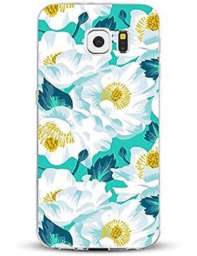Teryei® Funda Samsung Galaxy S7 Clear TPU Silicona Protección Premium Transparente ultrafina Choque Caso cover...