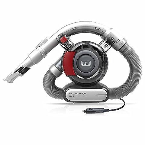 Black and Decker 12V DC Compact Lightweight Portable Flexi Car Vacuum