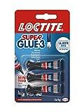 Superglue - 2055929 - 3 Liquide - Mini Trio Doses 3 x 1 gr