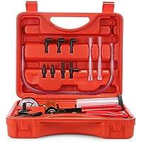 SKM Bremsentlüftungsgerät, Tester, Reparaturset, Vakuum-Pumpe, Kfz, mit Tragetasche