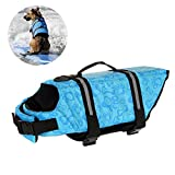 Chaleco salvavidas para perro, cinturón ajustable, chaleco reflectante para mascotas, chaleco salvavidas, chaleco de seguridad para flotación de perro para natación, barcos, caza
