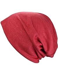 Bonnet Jersey long XL en noir, heather gris rouge vert couleur saumon menthe bleu claire | Bonnet Jersey printemps / été