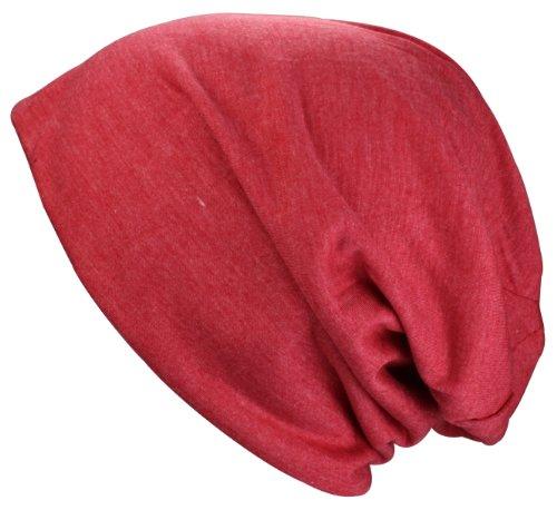 Alex Flittner Designs Bonnet Jersey long XL en noir, heather gris rouge vert couleur saumon menthe bleu claire | Bonnet Jersey printemps/été