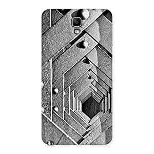 Premium Cage Hexa Back Case Cover for Galaxy Note 3 Neo