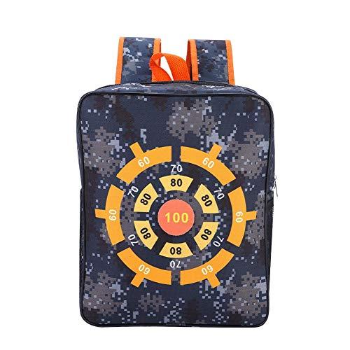 Dilwe borsa portaoggetti, borsa per borsetta di destinazione per bambini grande capacità borsa di trasporto per nerf n-strike