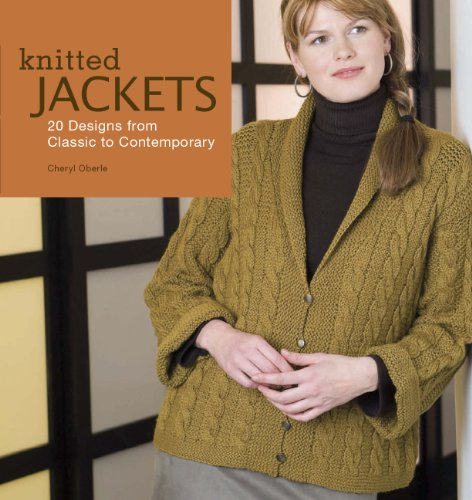 Knitted Jackets 2 Designs From Classic To Contemporary