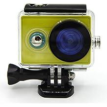 First2savvv XM-FSK-01 Carcasa Recubrimiento Protectora Prueba Agua para Cámara Xiaomi Yi Action negro