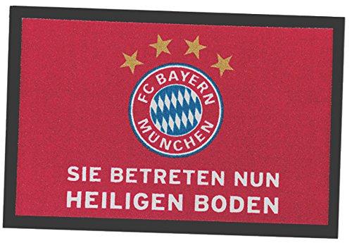 FC Bayern Fußmatte rot Größe 40x60 cm