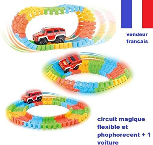 Circuit flexibel und, phosphoreszierend 80PCS + 1Auto Hat LED–Dem Circuit de Autos, die Schienen Wellen sich zu Willen und sich Leuchten