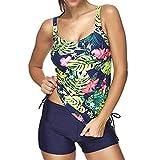 Luckycat Bikinis Mujer 2018, Traje de Baño de Playa De Una Pieza para Mujer Bañador de Baño Monokini Push Up Bikini Acolchado Bañadores de Mujer Tallas Grandes