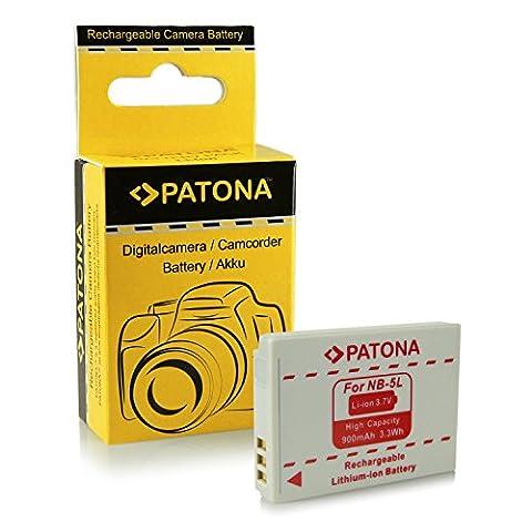 Batterie NB-5L pour Canon Digital Ixus 90 IS   800 IS   850 IS   860 IS   870 IS   900 Ti   950 IS   960 IS   970 IS   980 IS   990 IS - PowerShot S100   S110   SD770 IS   SD790 IS   SD800 IS   SD850 IS   SD870 IS   SD880 IS   SD890 IS et bien plus encore?
