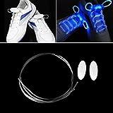 FairytaleMM 1 Paire 80CM Cinq Couleurs LED Lumière Lueur Lacet Glow Stick Clignotant Couleur Néon Lacet Conception Unique Lacets pour La Soirée De Soirée Jogging