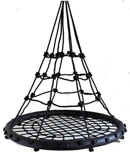 Preisvergleich Produktbild Nestschaukel SPYDER NEST SWING Spyder Black Netzschaukel Kinderschaukel Tragkraft 200 kg