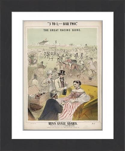 framed-print-of-a-day-at-the-races