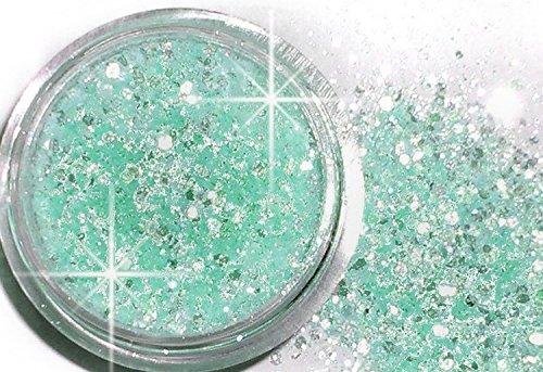 1 döschen Multi glitzzzer, # mg/96 Glam Turquoise