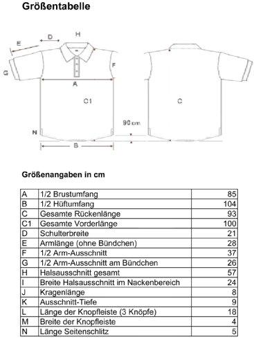 People Clothes - atmungsaktives Herren kurzarm Polo Shirt in Übergröße - Universalgöße von 6 XL bis 8 XL Gelb