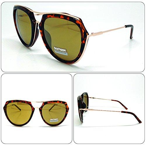 Sonnenbrille Sunglasses Herren Damen Unisex Aviator leopardate Art. A652017