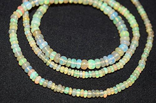 scher Welo-Opal 2,5-4mm, weich mit Perlen, 16neclaces ()